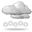 Patchy moderate snow, 0020 cloudy with heavy snow