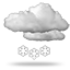Moderate or heavy<br>sleet, 0035 cloudy with light snow night